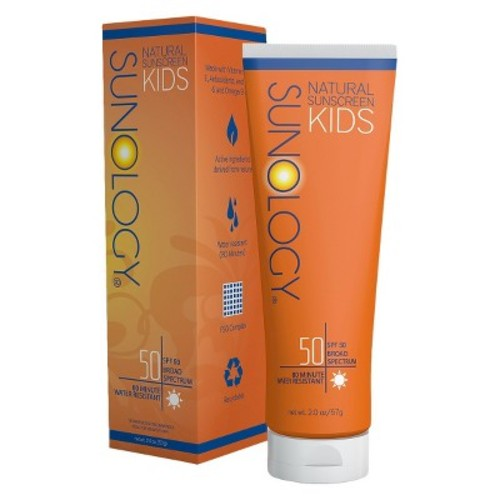 Sunology Natural Sunscreen Lotion for Kids - SPF 50 - 2oz