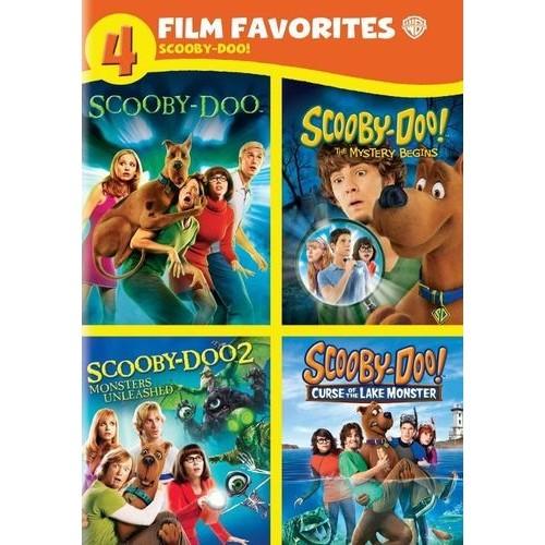 Scooby-Doo!: 4 Film Favorites [4 Discs]