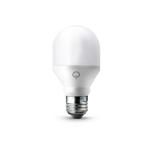 LIFX 60W Equivalent Mini Multi-Color A19 Dimmable Wi-Fi Smart Connected LED Light Bulb (4-Pack)