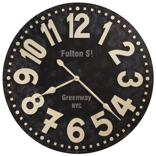 Howard Miller Fulton Street 36 in. Wall Clock
