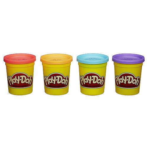 Play-Doh 4-Pack - Bold Colors