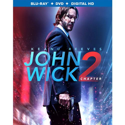 John Wick Chapter 2 (Blu-ray / DVD / Digital HD)