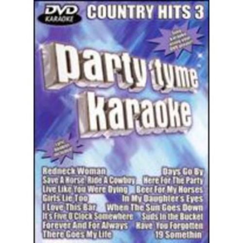 Party Tyme Karaoke: Country Hits, Vol. 3 [DVD]