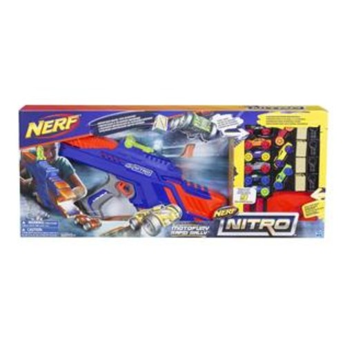 NERF Nitro MotoFury Rapid Rally Blaster