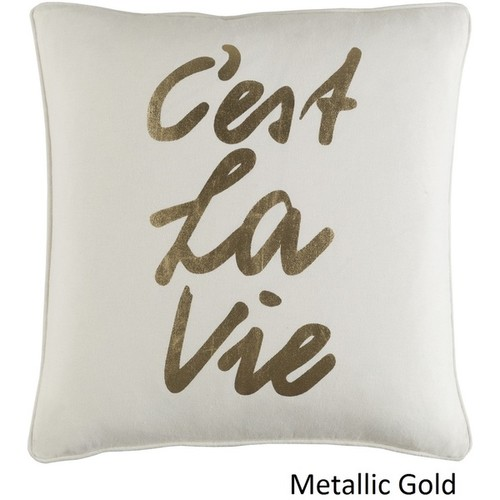 Decorative 18-inch High Throw Pillow Shell [option : Black - Cover]