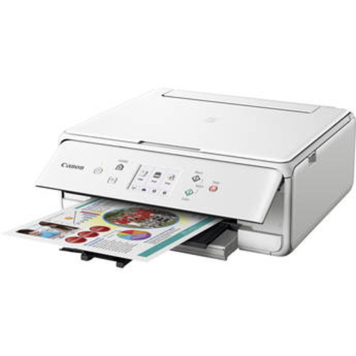 PIXMA TS6020 Wireless All-in-One Inkjet Printer (White)