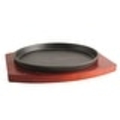 Cast Iron Plate Grilled Fillet Steak boutique rosewood 22cm