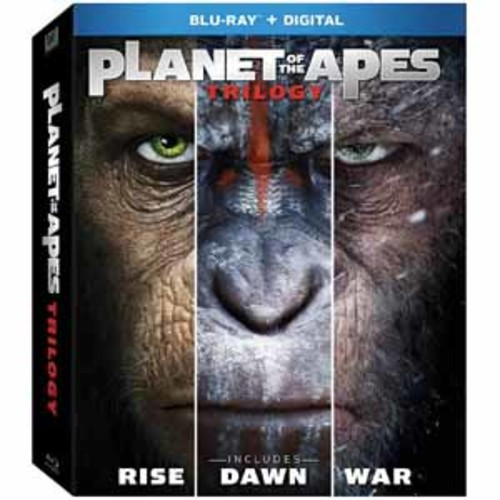Planet of the Apes Trilogy [Blu-Ray] [Digital]