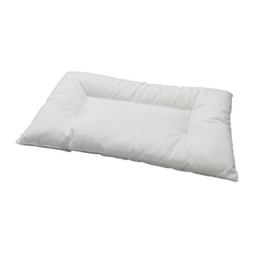 LEN Crib pillow, white