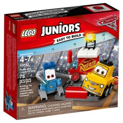 LEGO Juniors DisneyPixar Cars 3 Guido and Luigi's Pit Stop 10732