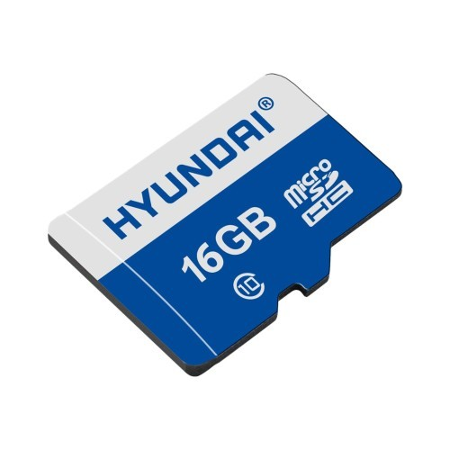 Hyundai IT Flash memory card (microSDHC to SD adapter included) - 16 GB - UHS-I / Class10 - microSDHC UHS-I (MHYMSDC16GC10)