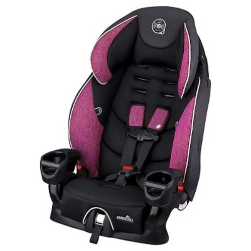 Evenflo Maestro Harness Booster Seat Car Seat - Raspberry Punch