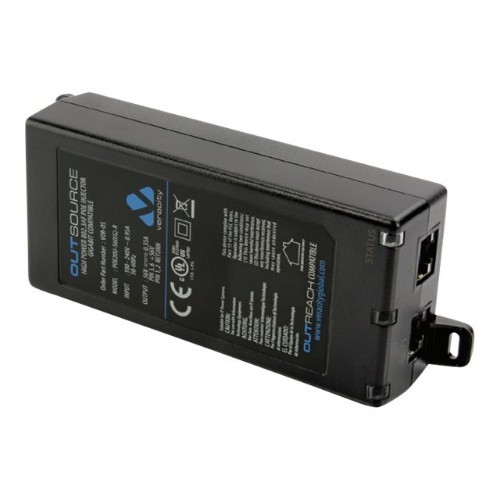 Veracity USA OUTSOURCE VOR-OS - PoE injector - 19.6 Watt - output connectors: 1 (VOR-OS)