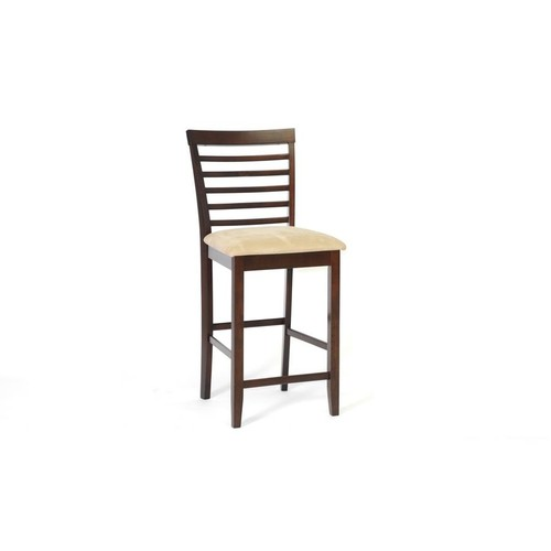 Baxton Studio Kelsey Brown Wood Modern Counter Stool (Set of 2)