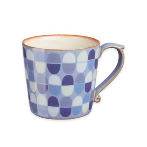 Denby Heritage Fountain Large Accent Mug in Blue