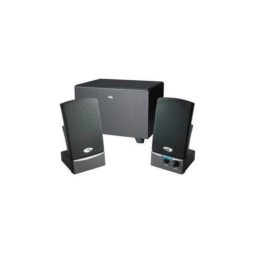 Cyber Acoustics CA-3001 2.1 Speaker System - 8.5 W RMS - Black 2J77654