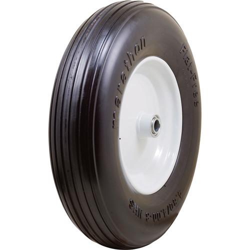 Marathon Tires Flat-Free Wheelbarrow Tire  3/4in. Bore, 4.80/4.008in.