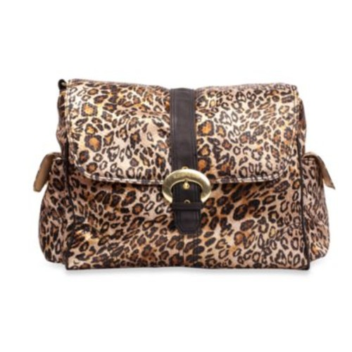 Kalencom Single Buckle Laminated Diaper Bag in Jungle Print