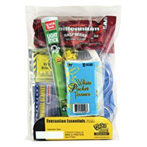 Quakehold! 70501 Evacuation Essentials Plus Kit