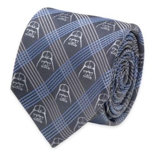 Star Wars Darth Vader Tie in Blue Plaid