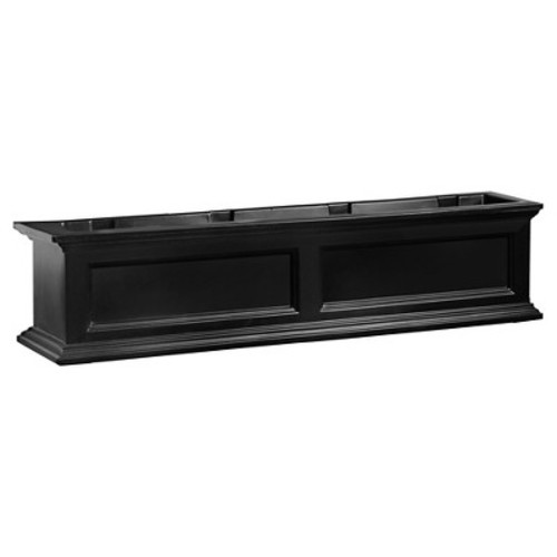 4' Fairfield Window Box - Black - Mayne