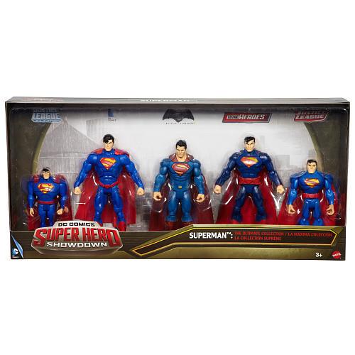 DC Comics Super Hero Showdown 5 Pack Multiverse Action Figure - Superman