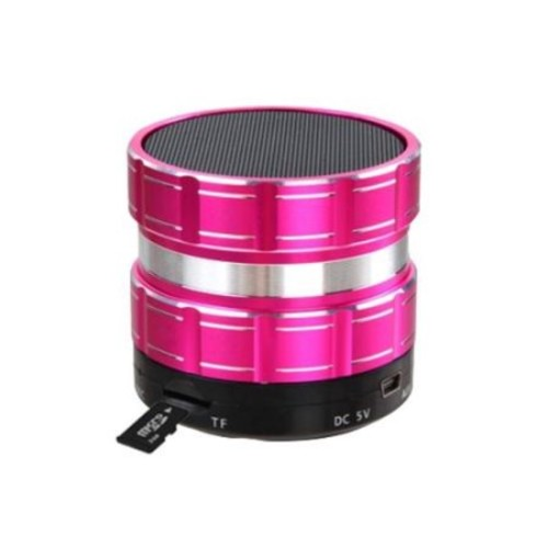 Insten Hot Pink Portable Mini Speaker for Cell Phone Smartphone Tablet PC Laptop Computer