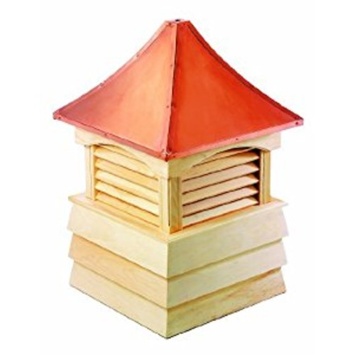 Good Directions Sherwood Wood Cupola with Copper Roof, 22