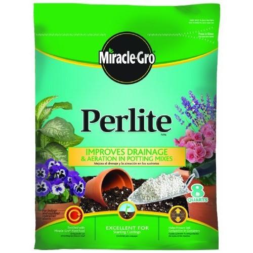Miracle-Gro Perlite, 8 Dry Quart Bag