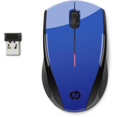 HP X3000 Wireless Optical Mouse - Cobalt Blue