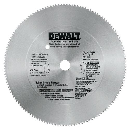 Dewalt DW3326 7-1/4