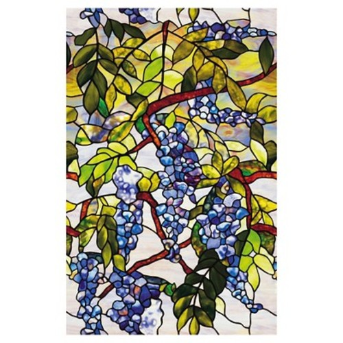 Artscape 24 in. x 36 in. Wisteria Decorative Window Film