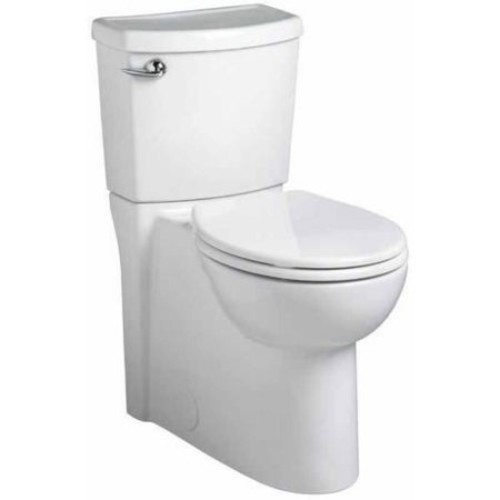 American Standard Cadet 3 FloWise 2-piece 1.28 GPF Round Toilet with Right Hand Trip Lever Concealed Trapway in White