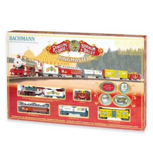 Ringling Brothers and Barnum & Bailey Circus Ringmaster Electric Train Set
