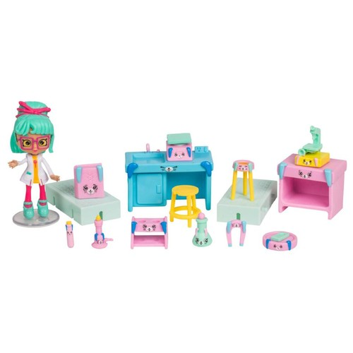 Shopkins Series 3 Happy Places Welcome Pack - Bright Bunny Science Lab