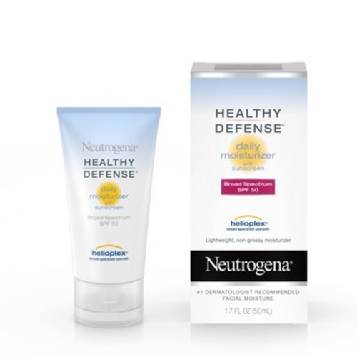 Neutrogena Healthy Defense Daily Moisturizer With Broad Spectrum SPF 50 Sunscreen - 1.7 fl oz