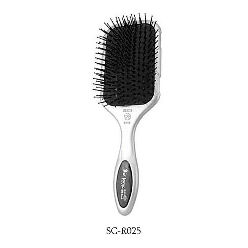 Bio Ionic iBrush Silver Classic Conditioning Paddle Brush