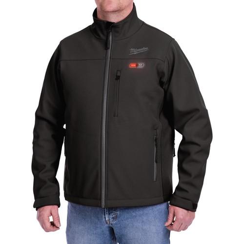 Milwaukee Small M12 12-Volt Lithium-Ion Cordless Black Heated Jacket Kit