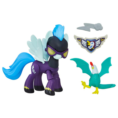 My Little Pony Guardians of Harmony Shadowbolts Pony and Cockatrice Figures