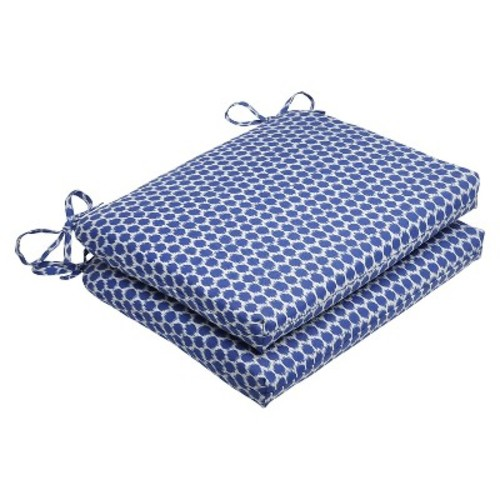 Outdoor Seat Square 2-Piece Cushion - Pillow Perfect