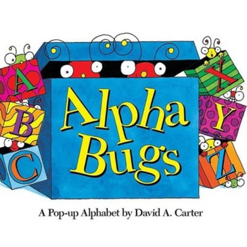 Alpha Bugs : A Pop-up Alphabet (Hardcover) (David A. Carter)