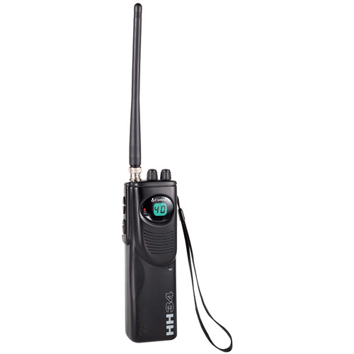 Cobra HH 38 WX ST Hand Held 40 Channel CB Radio with Weather and SoundTracker Noise Reduction System