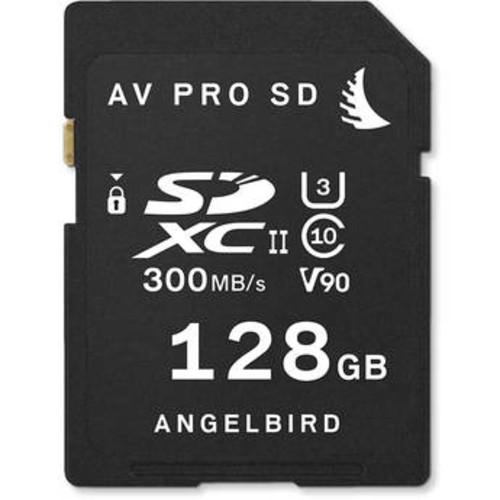 128GB AV Pro UHS-II SDXC Memory Card