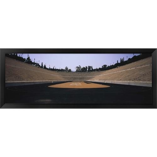 'Olympic Stadium, Athens, Greece' Framed Panoramic Photo