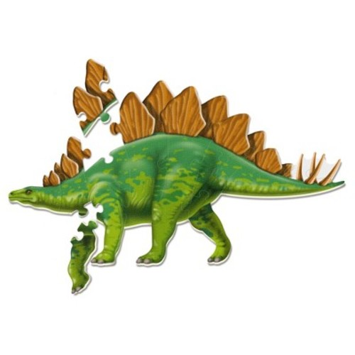 Learning Resources Jumbo Dinosaur Floor Puzzle - Stegosaurus 20pc