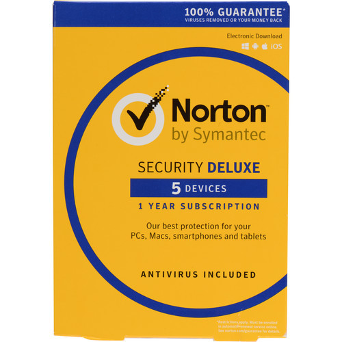 Norton Security Deluxe 3.0 (5-Devices / 1-Year / Boxed)
