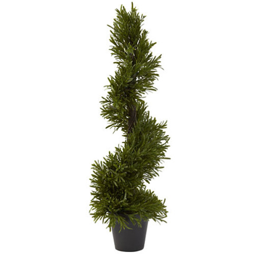 Nearly Natural Rosemary Spiral Tree