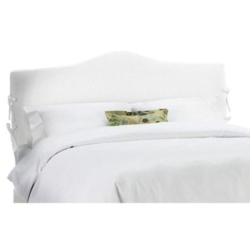 Eloise Slipcover Headboard, White