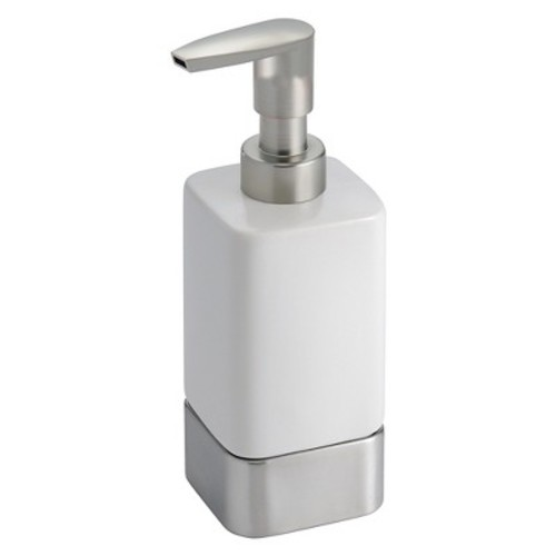 InterDesign Gia Soap Pump, White