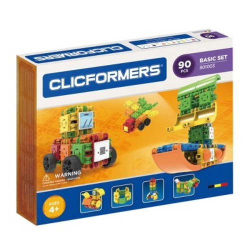 Clicformers Basic Building Set - 90pc